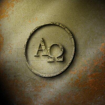 Poster Alpha Omega - Seal - Exposto