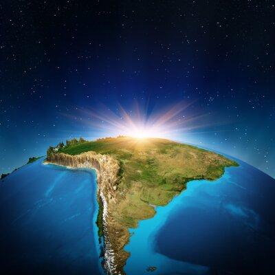Poster Ámérica do Sul