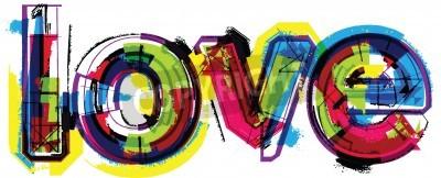 Poster Amor da palavra Artístico