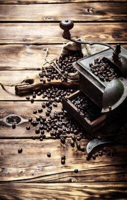 Poster Antigo moedor de café