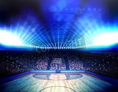 Poster Arena de basquete