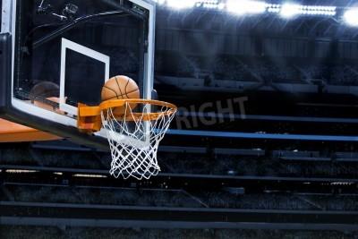 Poster Arena de basquete grande, com espaço da cópia