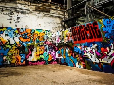 Poster Arte do graffiti