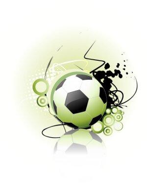 Poster Arte vetor Futebol
