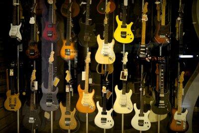Poster As guitarras elétricas