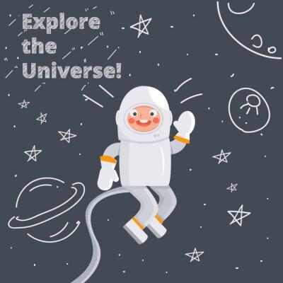 Poster Astronauta