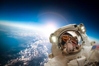 Poster Astronauta no espaço