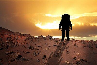 Poster Astronauta para Marte
