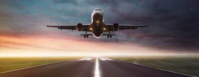 Poster Avião em vôo