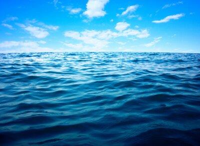 Poster Azul, mar, água, superfície