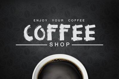 Poster backgrond café