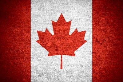 Poster Bandeira do Canadá