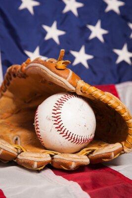 Poster Basebol americano