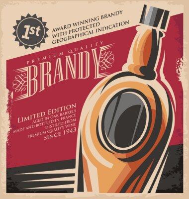 Poster Bebida Retro criativo mediaconcept impresso