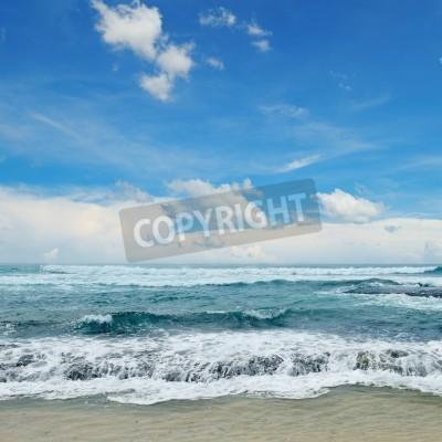 Poster Belas ondas no mar