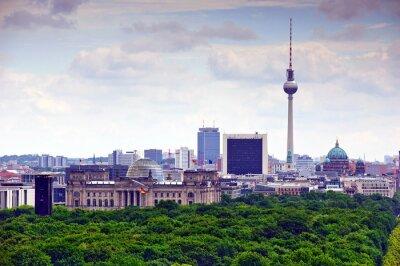 Poster berlim cityscape