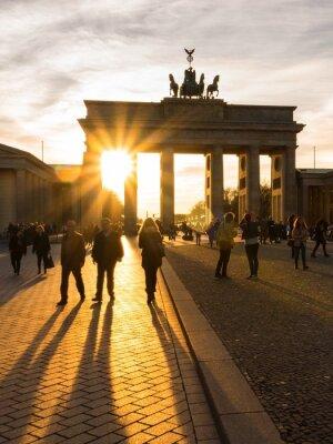 Poster Berlim, Portão de Brandenburgo