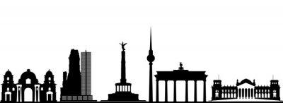 Poster berlin skyline da cidade
