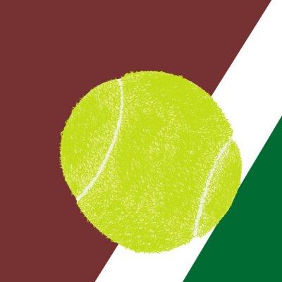 Poster Bola de tênis