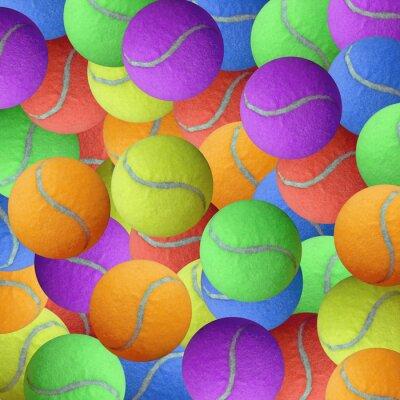 Poster bola de tênis como esporte fundo