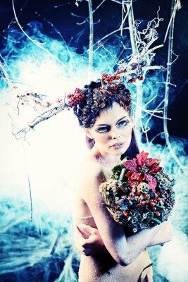 Poster bouquet de inverno