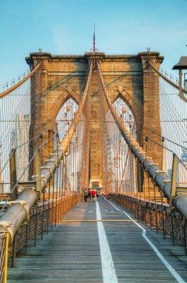 Poster Brooklyn Bridge em Nova York