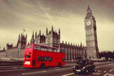 Poster Bus in London