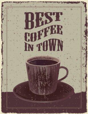 Poster Café Retro-Vintage Poster
