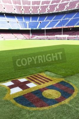 Poster Camp Nou - Fc Barcelona detalhe estádio