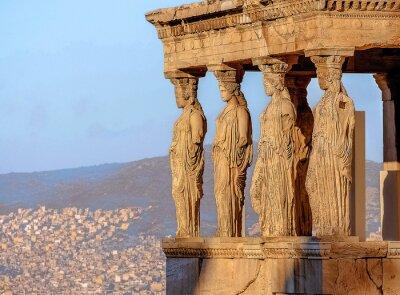 Poster Cariátides, Acrópole de Atenas