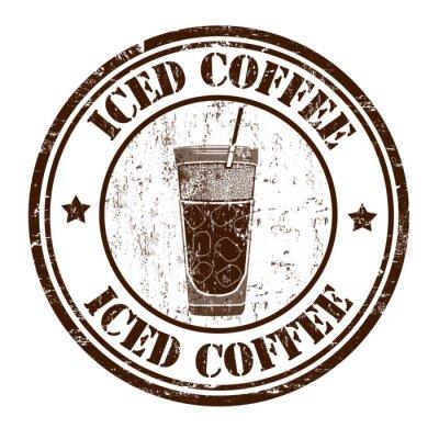 Poster Carimbo de café congelado