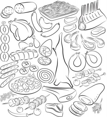 Poster Carne