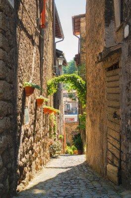 Poster Casas tradicionais italianos