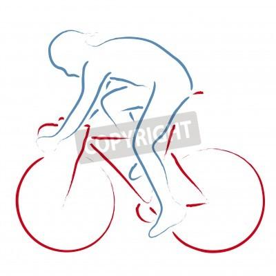 Poster ciclista