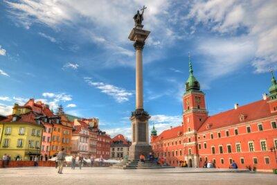 Poster Cidade velha em Varsóvia, Polônia