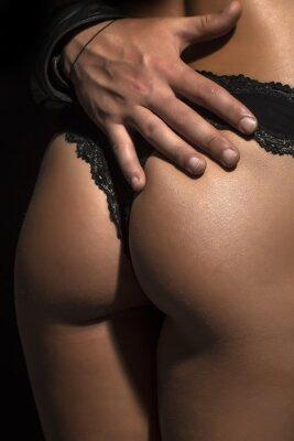 Poster Closeup of female buttocks