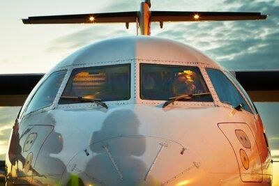 Poster Cockpit do avião