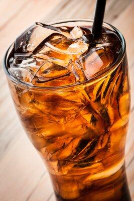 Poster Cocktail alcoólico com cola