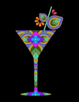Poster Cocktail criativo