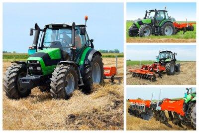 Poster Colagem Tractor