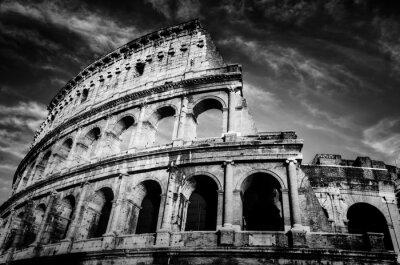 Poster Coliseu em Roma, Itália.