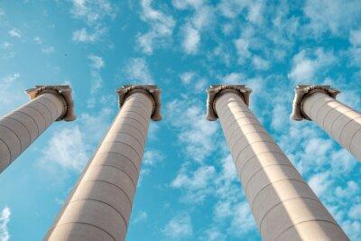 Poster Colunas gregas