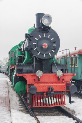 Poster comboio a vapor