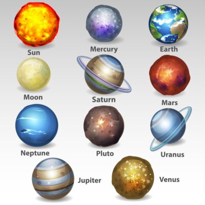 Poster Conjunto Planeta