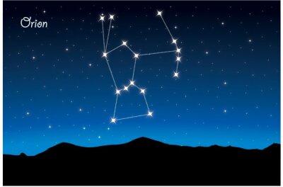 Poster Constelação Orion