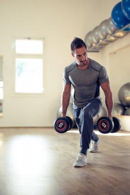 Poster Construindo seu bíceps