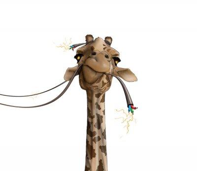 Poster Desenho, girafa