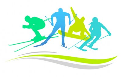 Poster Desportos de Inverno - 2