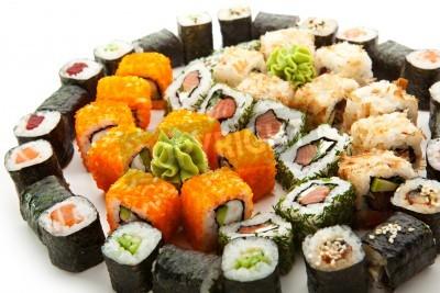 Poster Diferentes tipos de Maki Sushi