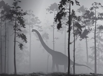 Poster dinossauro